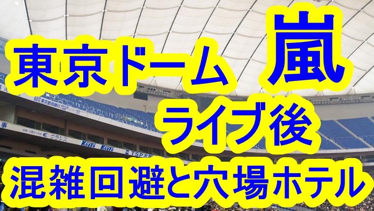 嵐 東京 ドーム コンサート